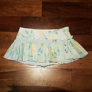 NWOT Abercrombie & Fitch floral skirt